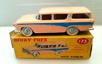 Vintage Dinky Toys 173 Nash Rambler near mint in Original box