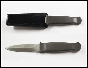 Vintage PARKER CUT.CO JAPAN boot survival combat knife  Black Beauty LOOK NICE