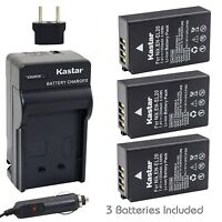 EN-EL20 Battery & Charger for Nikon Coolpix A, Coolpix P1000, DL24-500, 1 J2