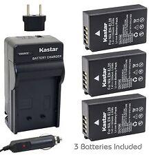 EN-EL20 Battery & Charger for Nikon Coolpix A, Coolpix P1000, DL24-500, 1 J2