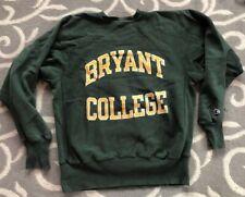 Vintage 80s Bryant College Rhode Island Champion Reverse Weave Sweatshirt Large