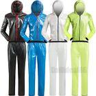 Mens Womens Outdoor Cycling Bike Raincoat Waterproof Windproof Jacket Pants Suit