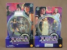 XENA WARRIOR PRINCESS XENA AND GABRIELLE MINT ON CARD TOY BIZ