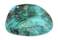 142.35 Carat Freeform Spiderweb Turquoise Gem Stone Gemstone Cab Cabochon ES2311