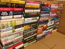 Lot of 10 GENERAL FICTION Action Romance Thriller Literature Hardcover HBs Books