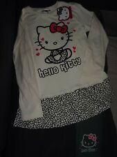 NEUF, ensemble HELLO KITTY, tunique + legging, 8 ans