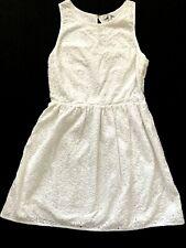 Joie Women's Dress, White Size S Eyelet Lace A-Line