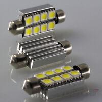 10 X LED Feston Lampe Bus Can 42 mm 12V 8-FACH LED Éclairage Intérieur Blanc