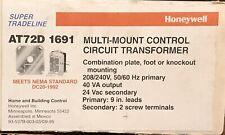 Honeywell 24 Volt TransformerAt72D
