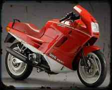 Ducati 906 Paso 3 A4 Metal Sign Motorbike Vintage Aged