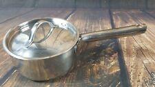 New listing Royal Doulton Stainless 1.5 Quart Saucepan Stir Fry Saute Pot Vented Lid Vguc
