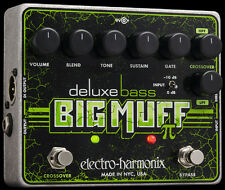 EHX Electro Harmonix Deluxe Bass Big Muff Pi Distortion / Tone Shaping Pedal
