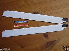 HOLZ Rotorblätter, 325mm für T Rex,KDS,HK und andere 450er (Holz,weiß)