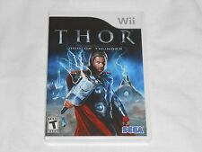 NEW Thor : God of Thunder Nintendo Wii Game BRAND NEW SEALED we Sega hammer thro