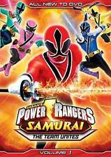 POWER RANGERS SAMURAI: VOLUME 1 ONE - THE TEAM UNITES DVD