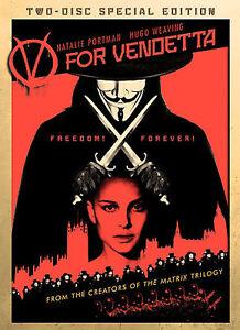 V for Vendetta (Two-Disc Special Edition), Good DVD, Hugo Weaving, Natalie Portm