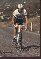 PATRICK PERRET cyclisme carte signée ciclismo PEUGEOT