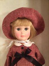 "Vintage Effanbee Four Seasons Collection Autumn Vinyl 14"" Doll"