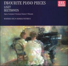 NEW Favourite Piano Pieces - Liszt, Beethoven (CD, Oct-1995, Curb)