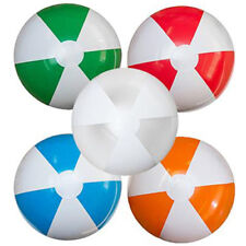 PACK OF 30x LARGE INFLATABLE BEACH BALL. 107cm Circumference
