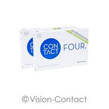 Contact Four 2 x 6 sphärische Kontaktlinsen Monatslinsen von Wöhlk