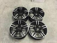 "20"" 437M M4 Style Wheels Gloss Black Machined BMW 5x120 E90 E92 F10 F11 F30 F32"