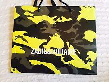 ZADIG & VOLTAIRE Designer Paper Shopping Bag
