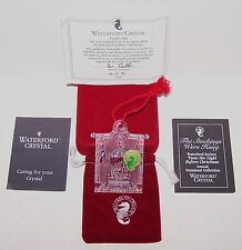 1995 WATERFORD CRYSTAL TWAS THE NIGHT BEFORE XMAS STOCKINGS WERE HUNG ORNAMENT