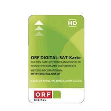 ORF HD SAT Karte Digital AKTIV und freigeschaltet