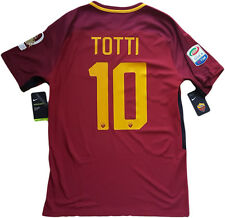 Maglia roma TOTTI NIKE last game 2017 Authentic player M ultima limited edition