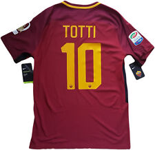 Maglia roma TOTTI NIKE last game 2017 Authentic player XL ultima limited edition