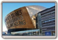 FRIDGE MAGNET - MILLENIUM CENTRE - Large Jumbo - Cardiff Wales UK