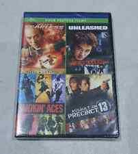 JET LI'S FEARLESS/UNLEASHED/SMOKIN' ACES/ASSAULT ON PRECINCT 13 FOUR FEATURE DVD