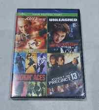 JET LI'S FEARLESS/UNLEASHED/SMOKIN' ACES/ASSAULT ON PRECINCT 13 FOUR FEATURE DVD