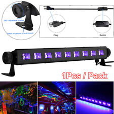 27W 9 LEDs UV LED Black Stage Light Bar Wall Wash DJ Disco Halloween Party Lamp