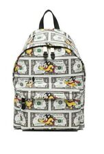 Moschino Couture Jeremy Scott MIGHTY MOUSE DOLLAR PRINT Backpack