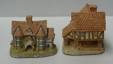 David Winter Cottage > Set Of 2 >> Little Market and Shirehall > Great Britain