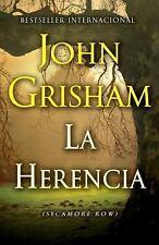 (3) UNREAD John Grisham SPANISH PB Lot: La Herencia, Confesion, O Ultimo Jurado
