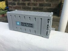 LEGO MAERSK LINE TRAIN SHIP SHIPPING CONTAINER SQUARE BRICK LIGHT BLUISH GREY