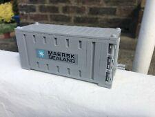 LEGO Maersk Line TRENO NAVE CONTAINER QUADRATO Mattone grigio bluastro