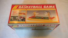 VTG 80's Basketball toy  Table Top Push Button shooting Game Playwell Hong Kong