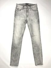 Hudson Nico Super Skinny Mid Rise Ankle Jeans Land Mine Stretch Women's 27 x 28