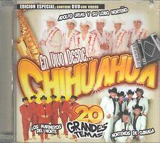 Los Marineros Del Norte Nortenos de Ojinaga En Vivo Desde Chihuahua CD New