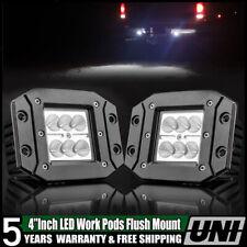 "2PCS 4"" 36W 4WD 12V  LED WORK LIGHT BAR FLOOD OFFROAD ATV FOG TRUCK LIGHT US"