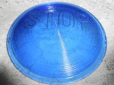 Blue Vaseline glass Stop Light / Lens Elevator car truck signal uranium traffic