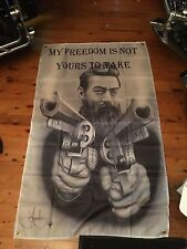 NED KELLY Father's Day gift for man cave flag 5x3 ft pool room wall hanging Ned