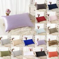Rectangle Cushion Cover Silk Throw Pillow Case Pillowcase Sofa Home Decor Gift