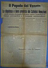Popolo del Veneto. Settimanale della Democrazia Cristiana