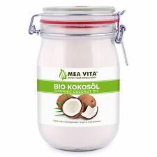 Huile Noix coco Bio Extra Vierge 1L Cosmétique Cuisson Naturelle Alimentaire