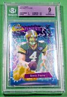 1995 Finest #56 Brett Favre BGS 9 Mint 🏦 Packers HOF